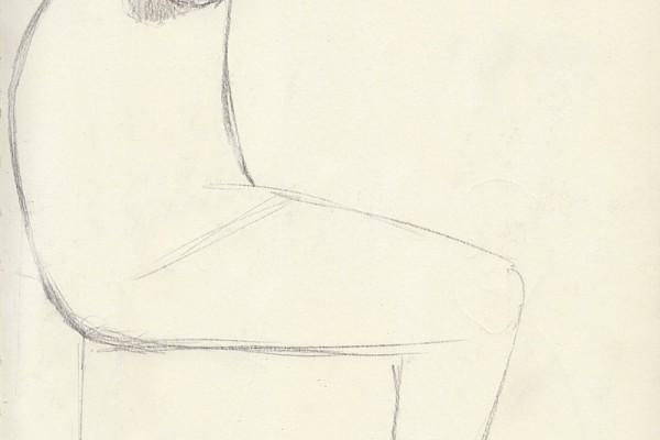 Maschera seduta