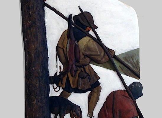 cacciatori nella neve