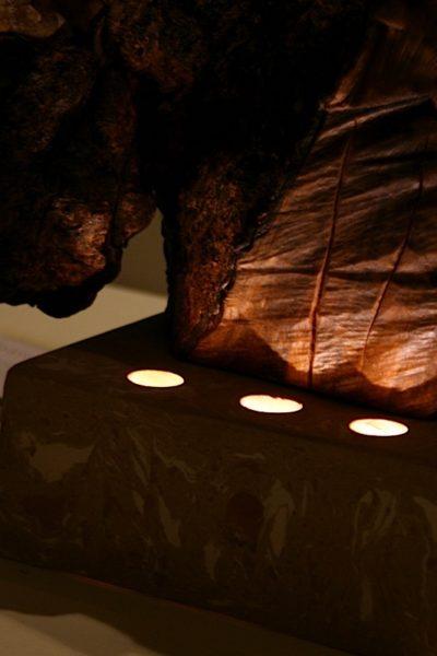 claywood grigia effetto luce