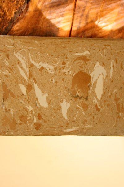 claywood grigia particolare base in argilla sbagliata