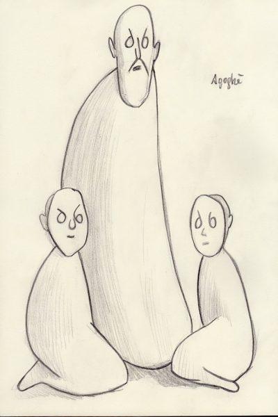 Agoghè bozzetto