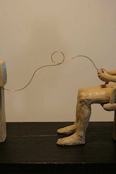 terracotta ingobbiata - 35 x 20 x 75 cm