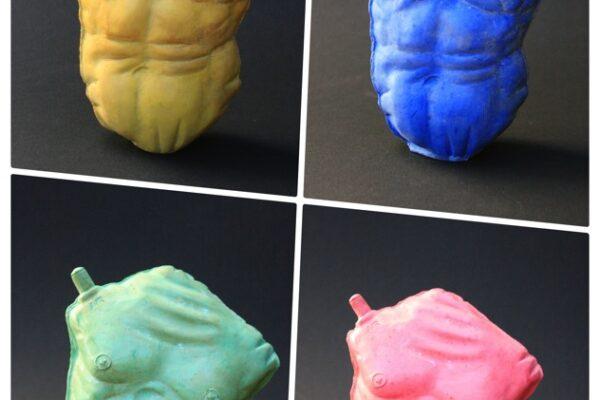 pallone gonfiato collage